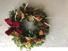 The traditional wreath