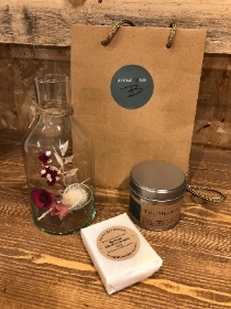 Dried Flower Jar Gift Set
